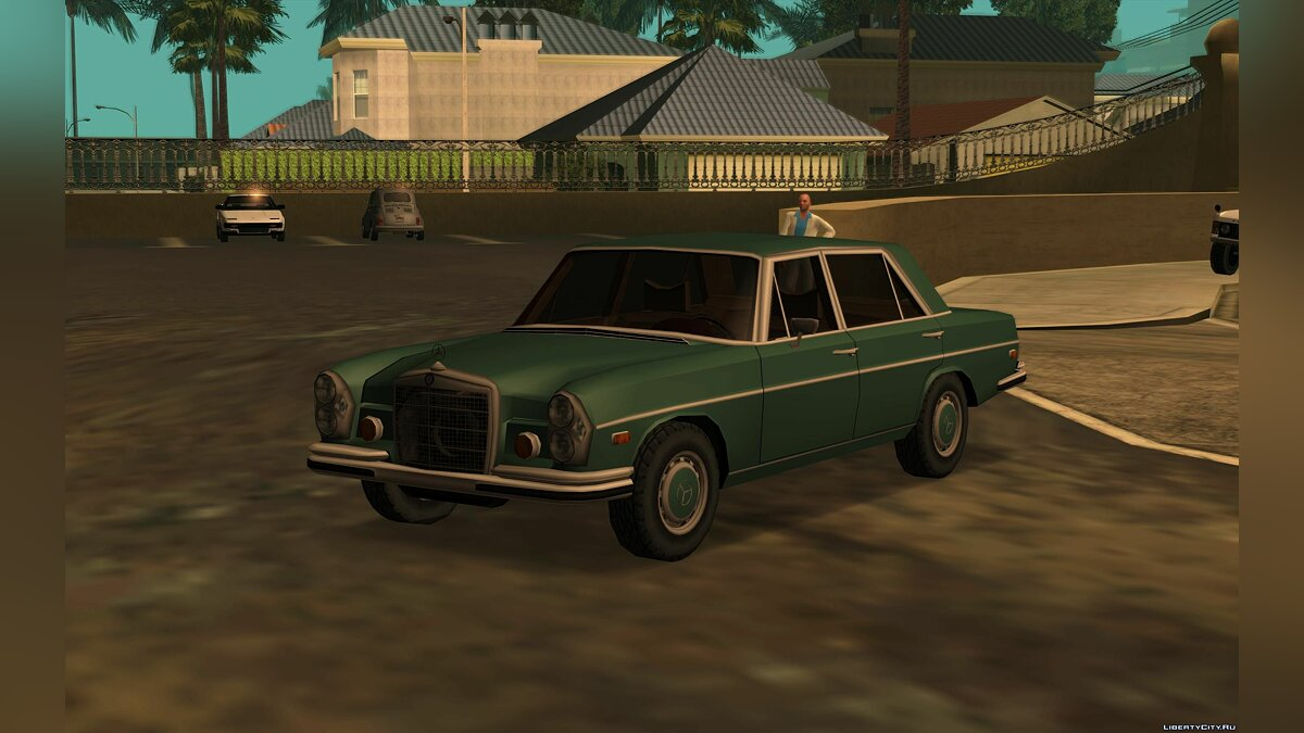 Mercedes-Benz 300 SEL 6.3 [W109] '72 for GTA San Andreas