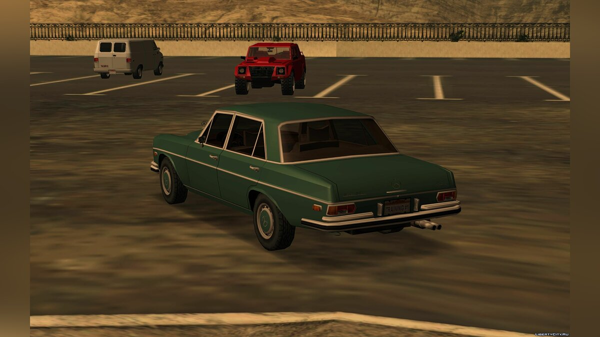 Mercedes-Benz 300 SEL 6.3 [W109] '72 for GTA San Andreas - screenshot #2