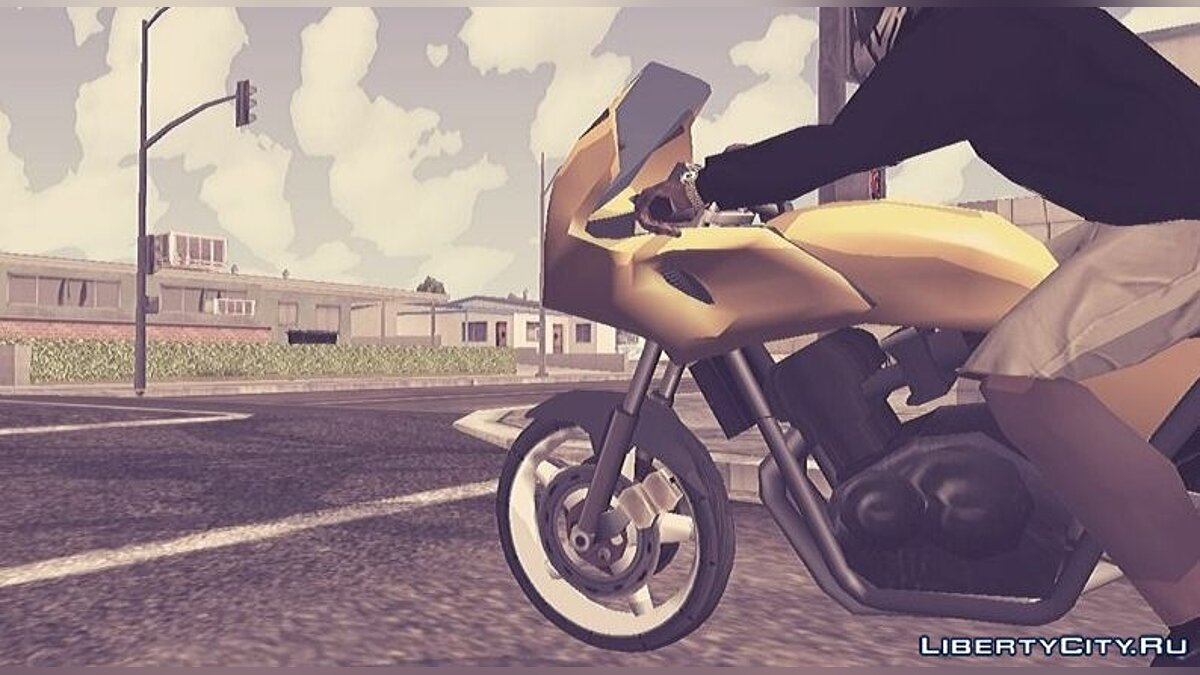 Cars Draft Bikes - PCJ600 for GTA San Andreas