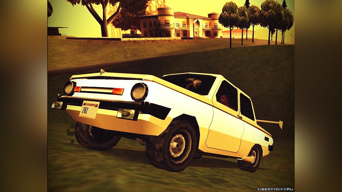 Zaz for GTA San Andreas - screenshot #3