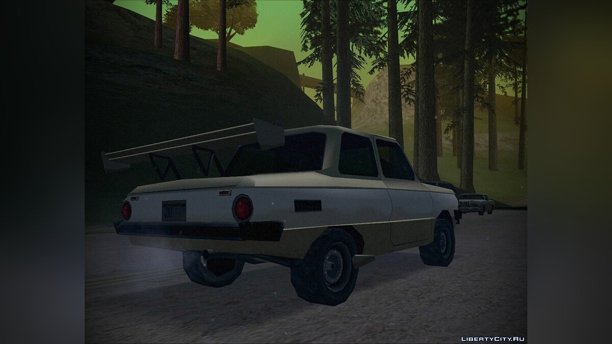 Zaz for GTA San Andreas - screenshot #4