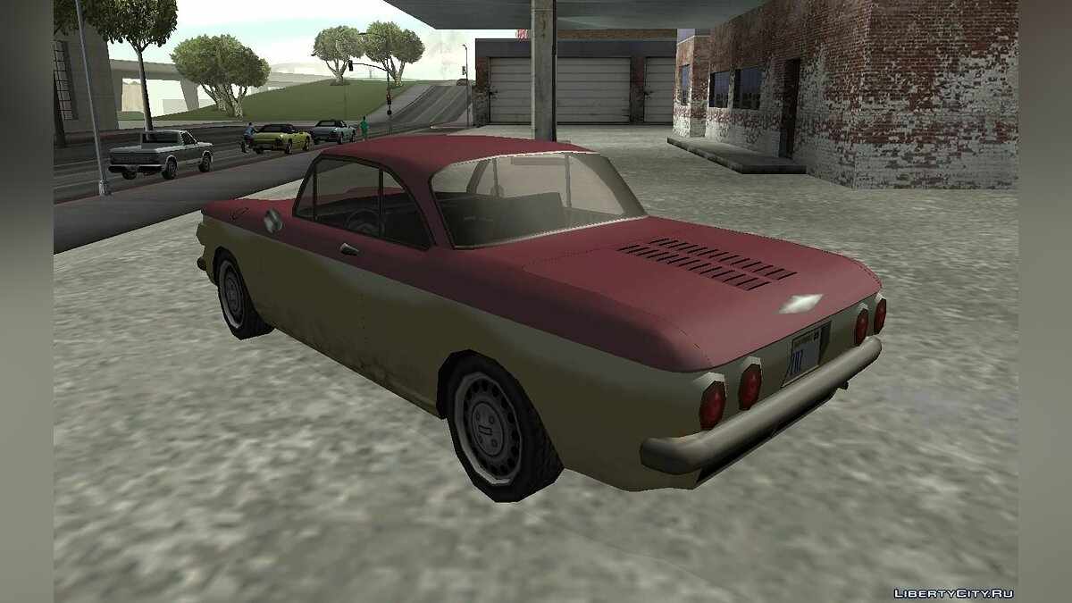 Chevrolet Corvair Coupe 1964 for GTA San Andreas - screenshot #3
