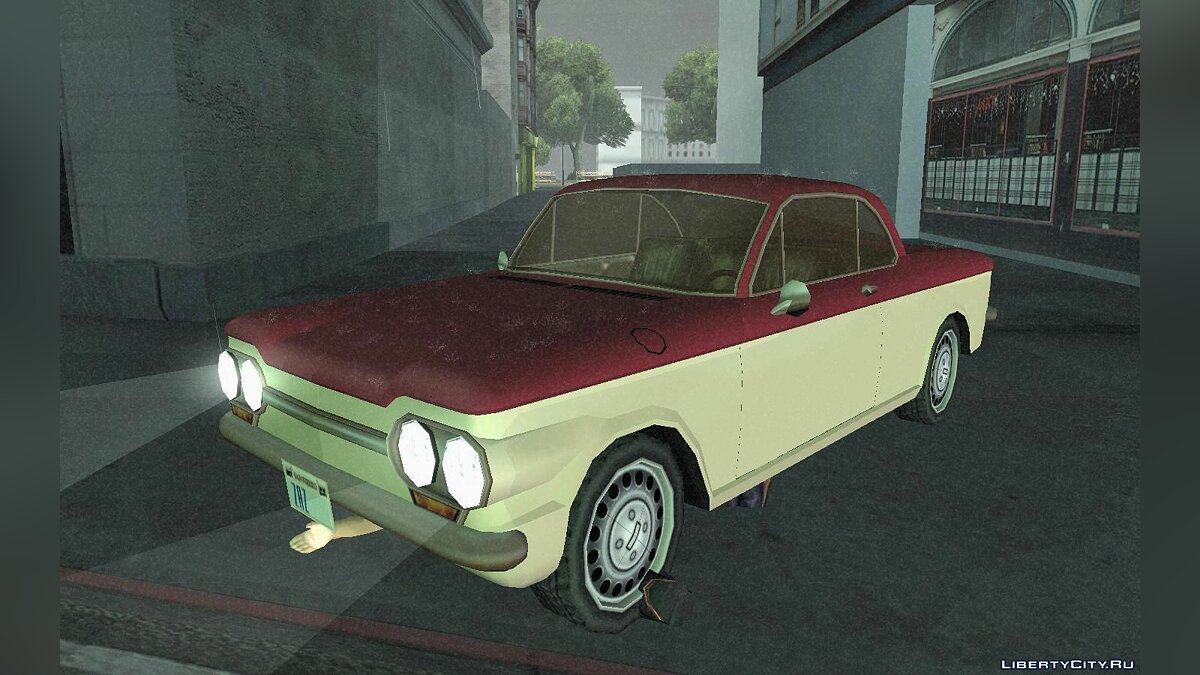 Chevrolet Corvair Coupe 1964 for GTA San Andreas - screenshot #4