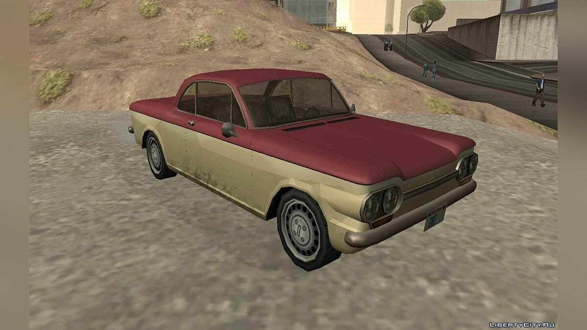 Chevrolet Corvair Coupe 1964 for GTA San Andreas