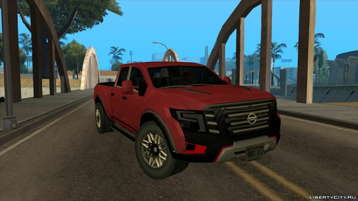 Cars Nissan Warrior Concept 2019 Lowpoly for GTA San Andreas