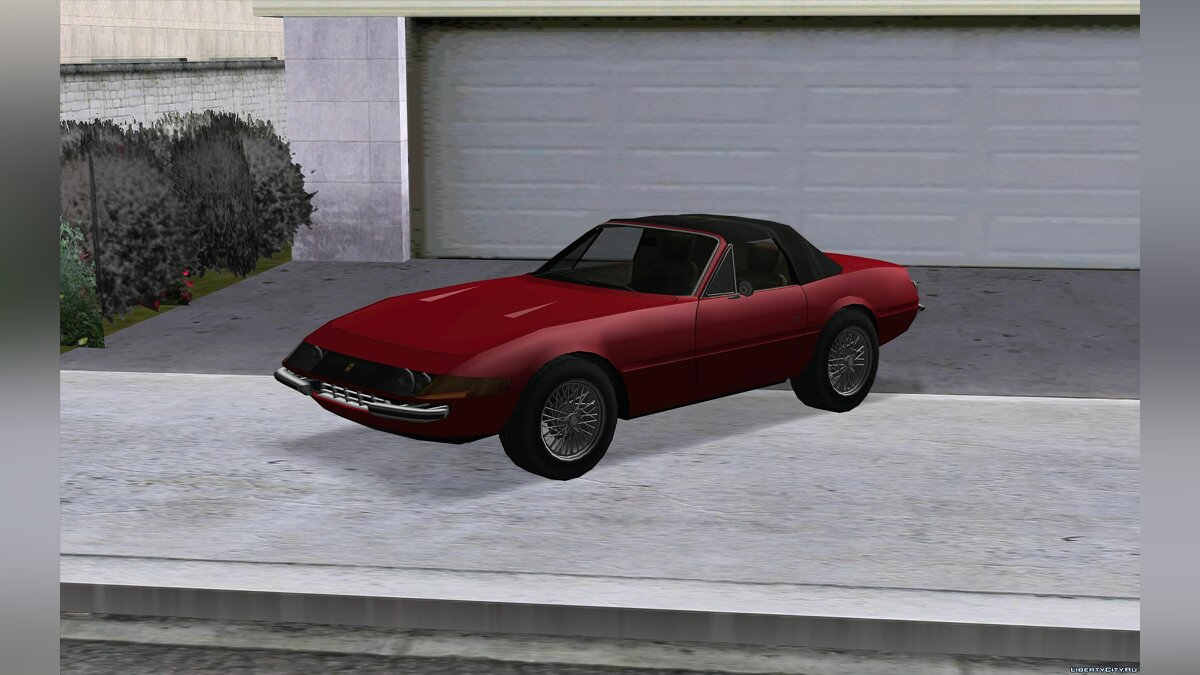 Cars Ferrari 365 GTS / 4 Daytona Spyder '73 for GTA San Andreas