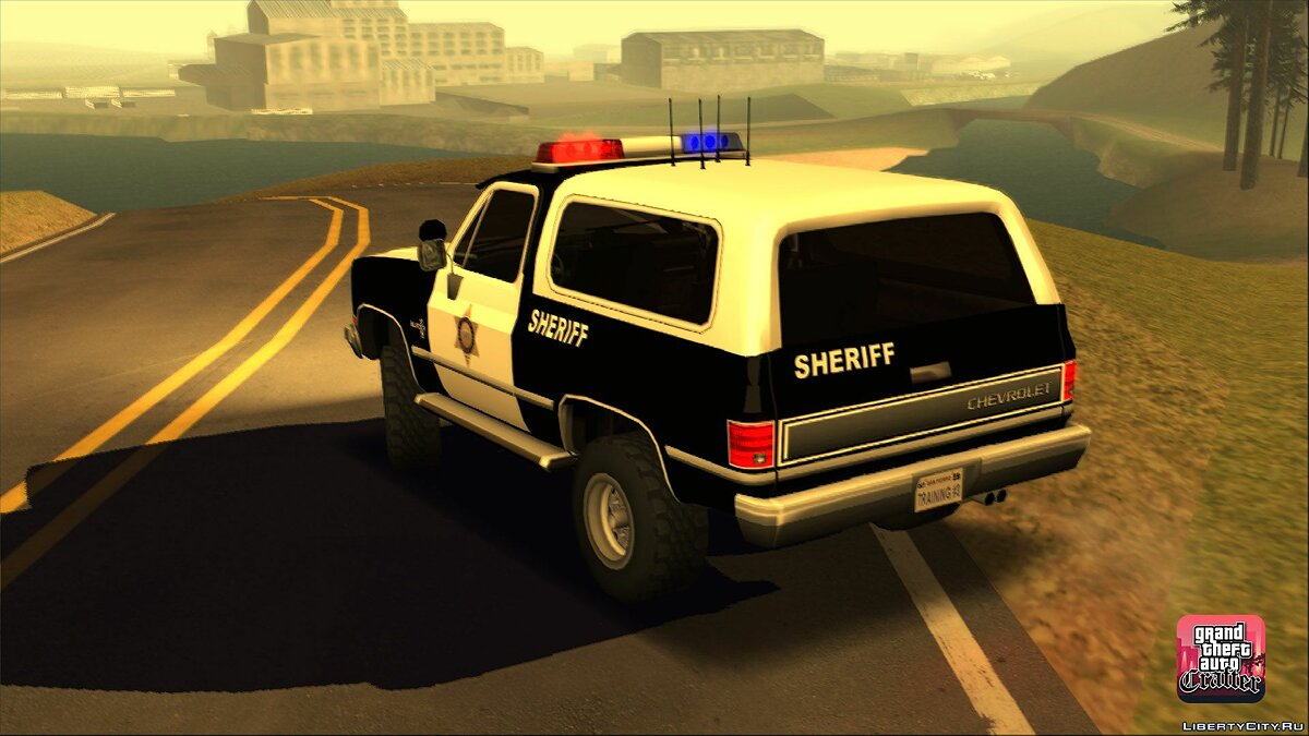 Cars 1986 Chevrolet Blazer K5 Police LQ for GTA San Andreas