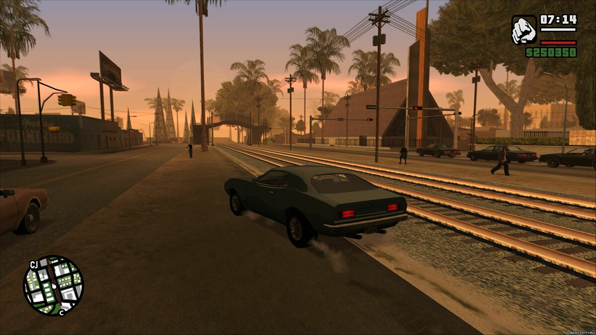 Declasse Saber 1972 for GTA San Andreas - screenshot #2