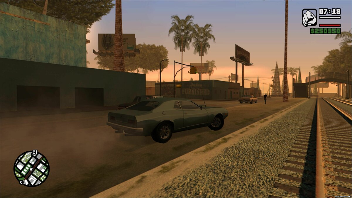 Declasse Saber 1972 for GTA San Andreas - screenshot #3