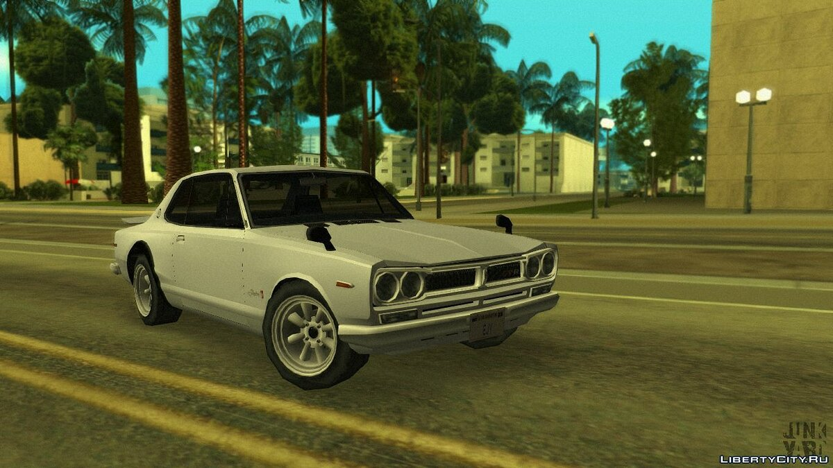 Cars Nissan Skyline 2000 GT-R '71 for GTA San Andreas