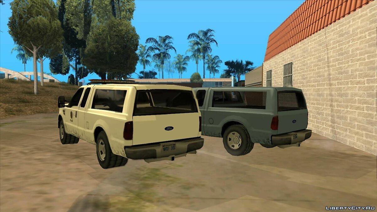 Cars Ford F-150 Police/Civil version for GTA San Andreas