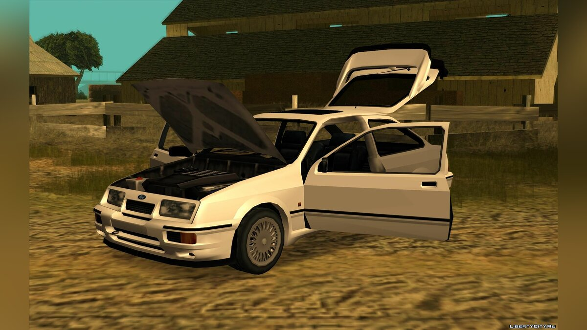 Cars Ford Sierra Cosworth RS500 for GTA San Andreas