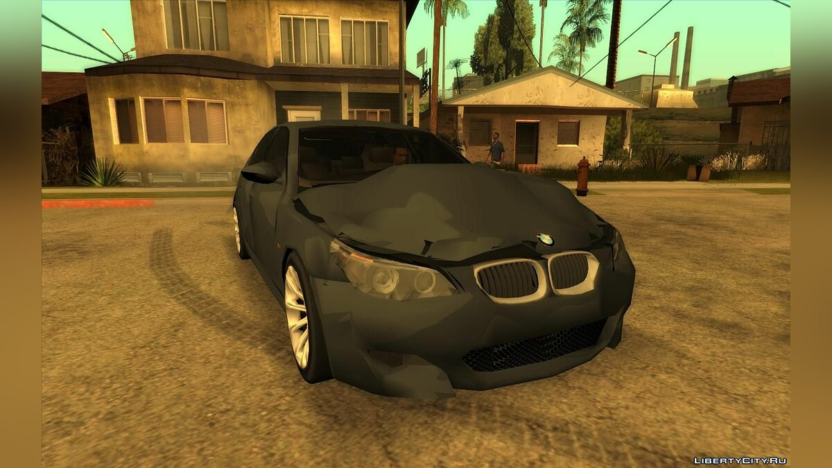Cars BMW M5 (Lowpoly) for GTA San Andreas