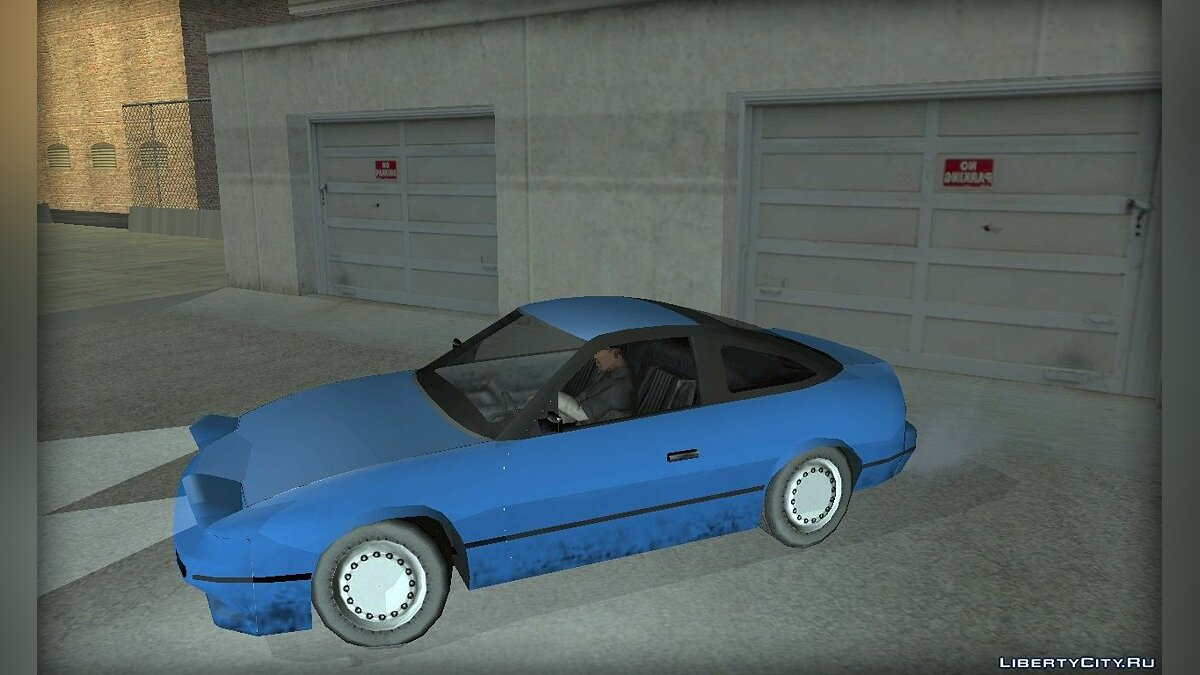 Nissan in the style of [SA] for GTA San Andreas - screenshot #5