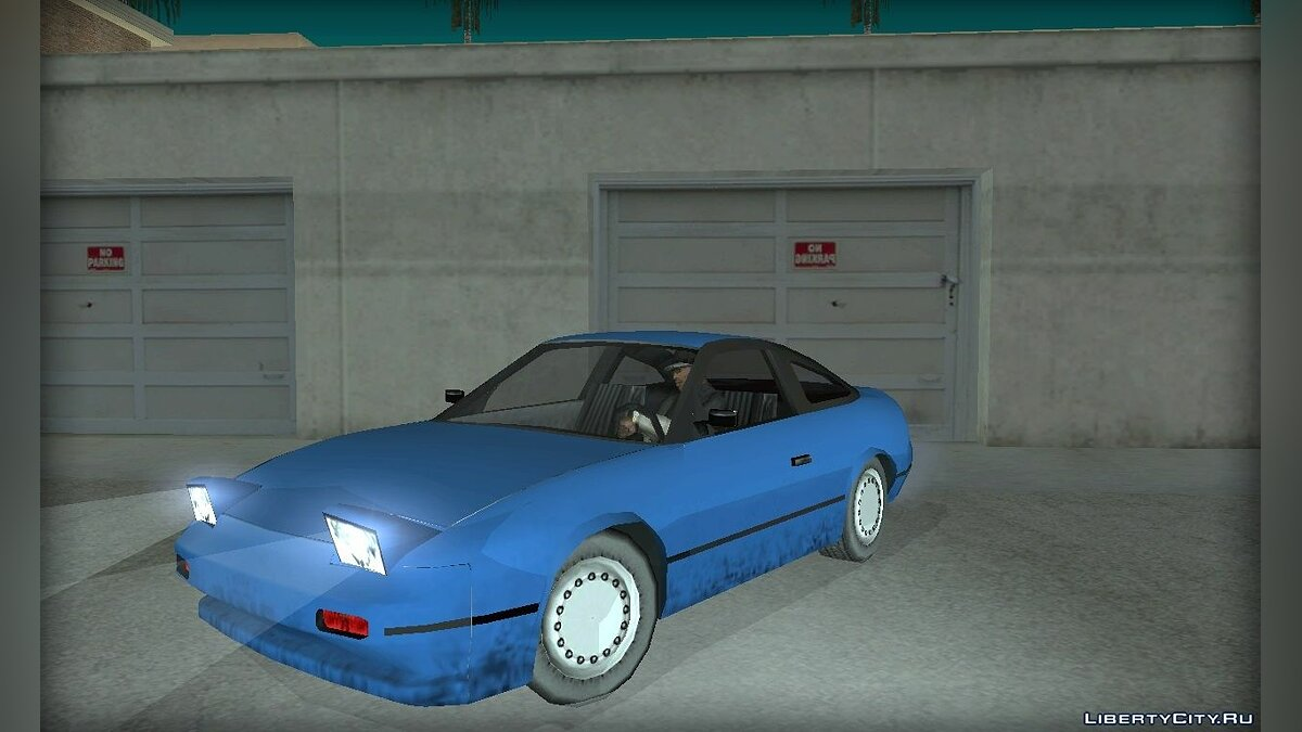 Nissan in the style of [SA] for GTA San Andreas - screenshot #6