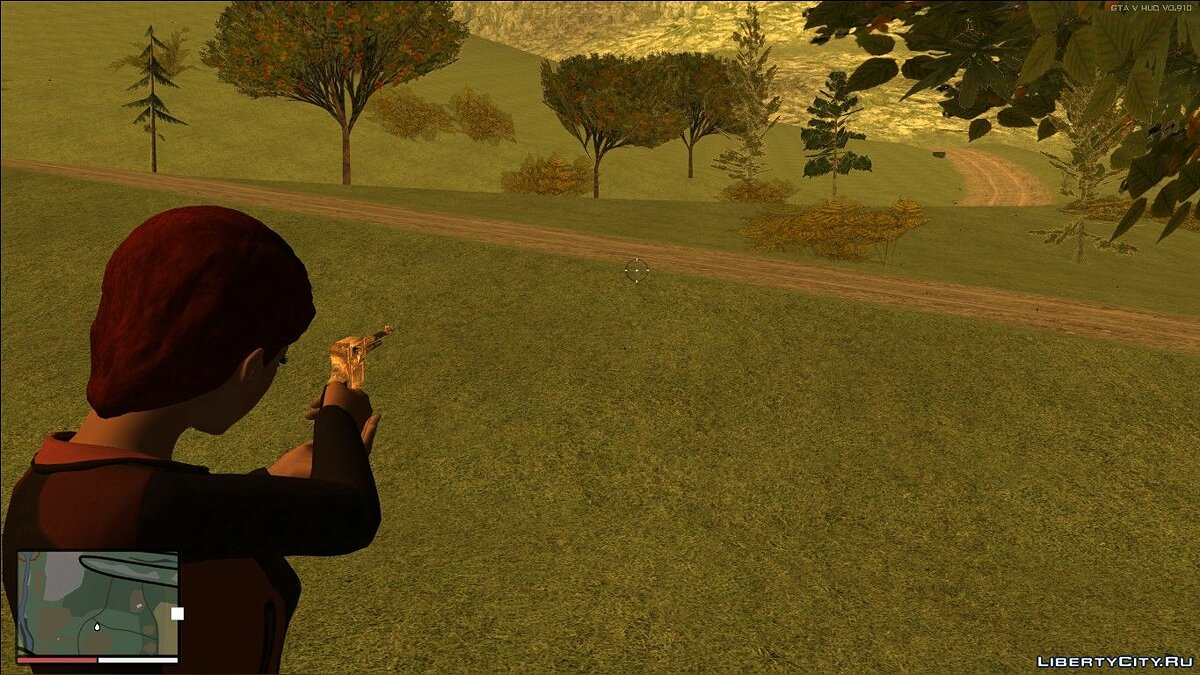Weapon mod Cartel revolver for GTA San Andreas