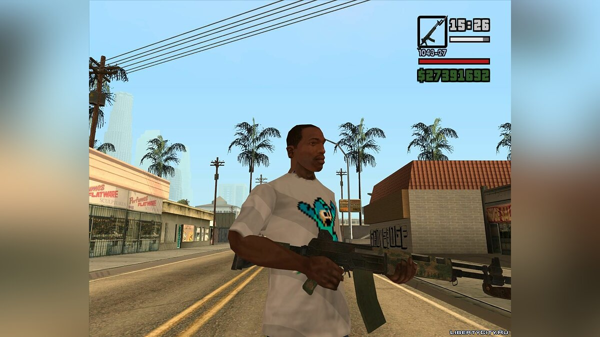 Weapon mod RN from Resident evil 6 for GTA San Andreas