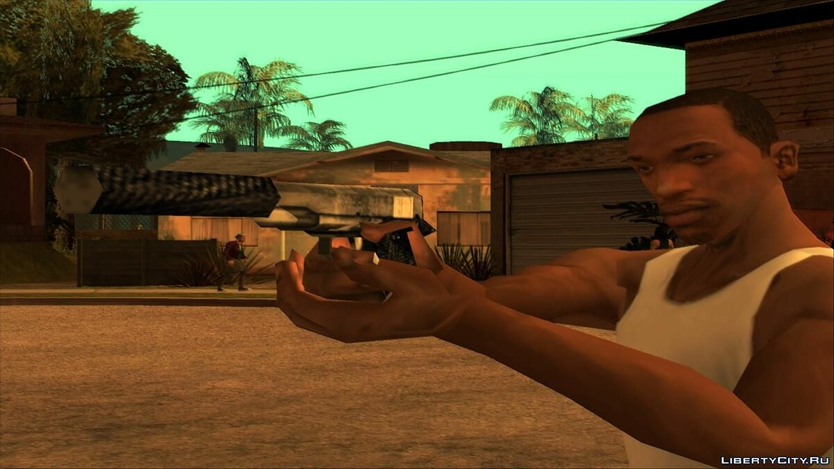 Weapon mod Colt M1911 for GTA San Andreas
