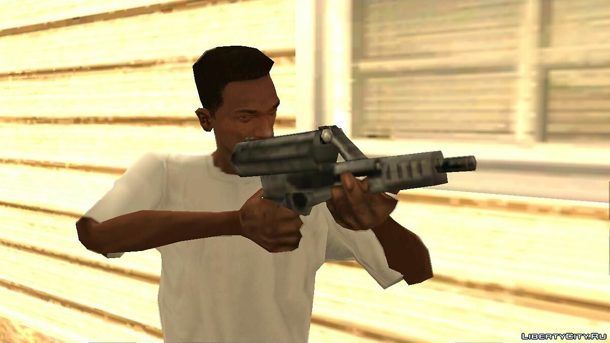 Weapon mod Calico M950 for GTA San Andreas