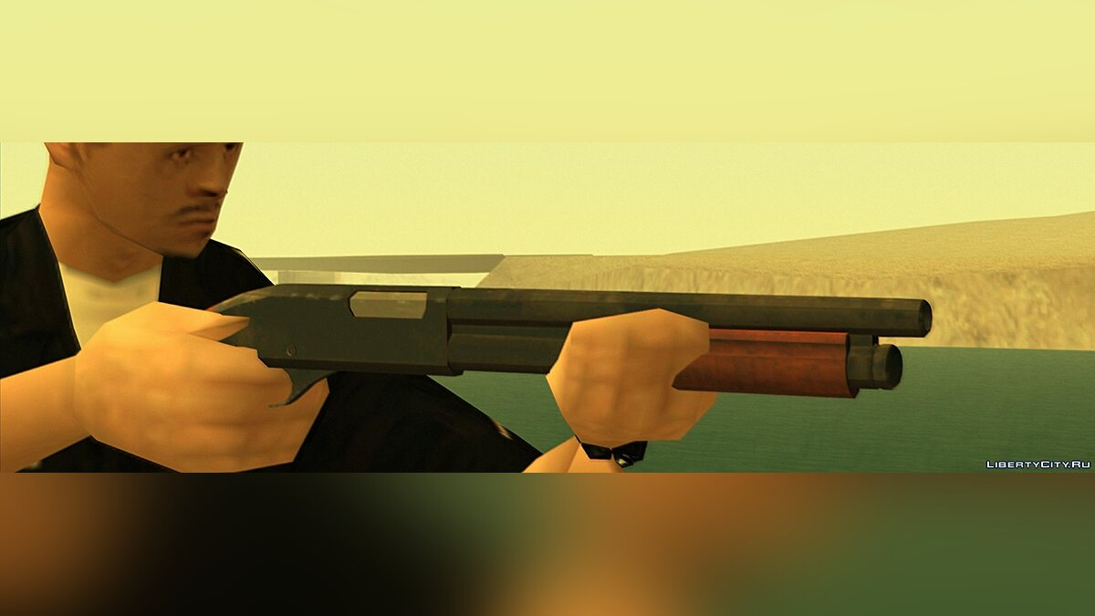 Weapon mod Sawed Off for GTA San Andreas