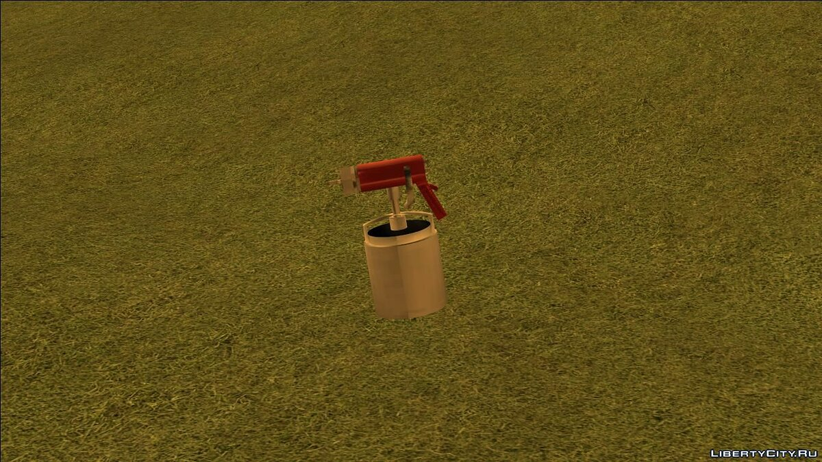 Weapon mod Paint gun for GTA San Andreas