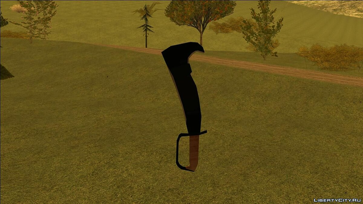 Weapon mod The woodman's pal for GTA San Andreas