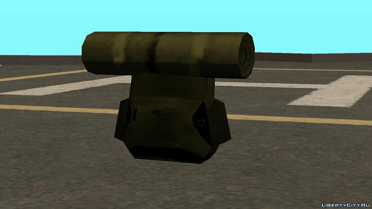 Weapon mod Travel backpack for GTA San Andreas