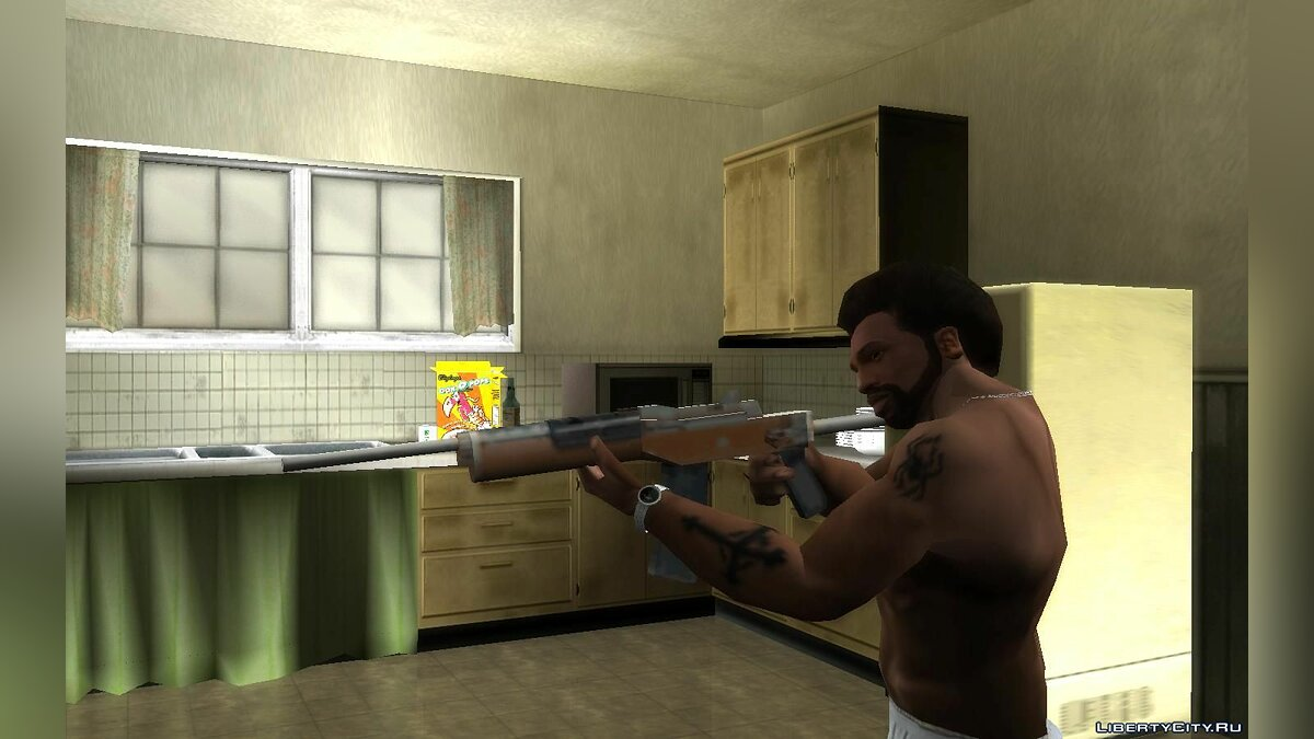 Weapon mod Ruger from GTA Vice City for GTA San Andreas