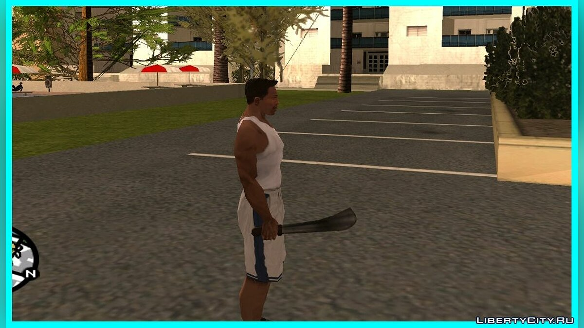 Weapon mod Machete from GTA VC for GTA San Andreas