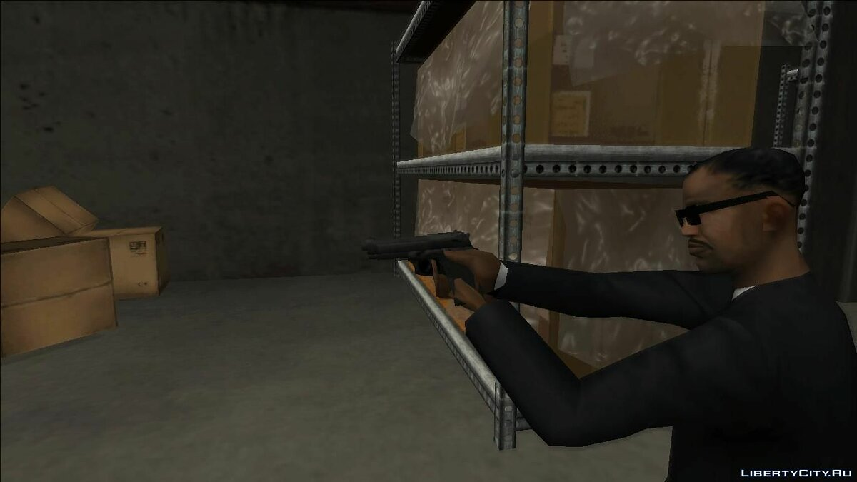 Weapon mod Beretta M9 for GTA San Andreas