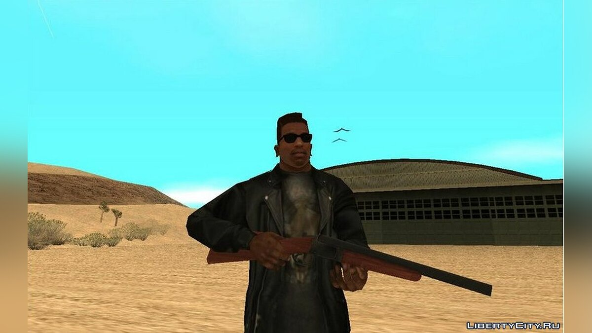 Weapon mod Ash williams boomstick for GTA San Andreas