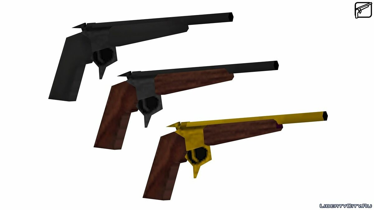 Weapon mod Thompson Contender for GTA San Andreas