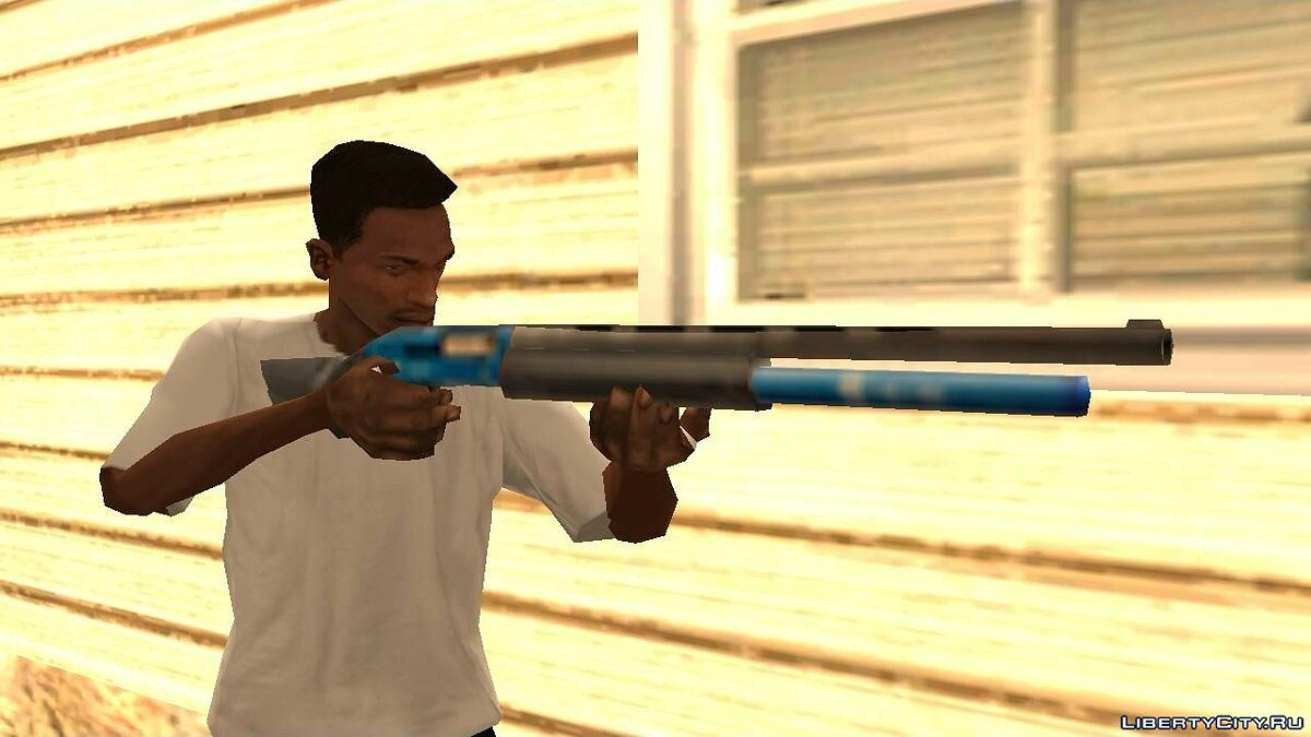 Weapon mod FN SLP Competition for GTA San Andreas
