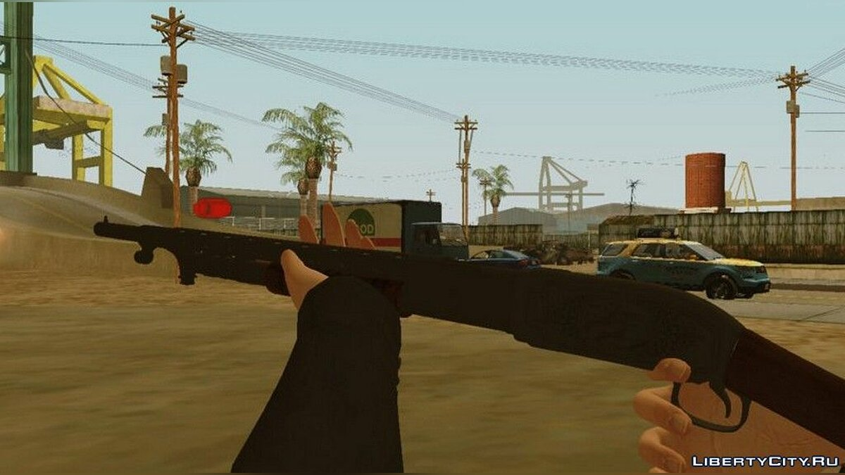 Weapon mod Shotgun from Call of Duty WWI for GTA San Andreas