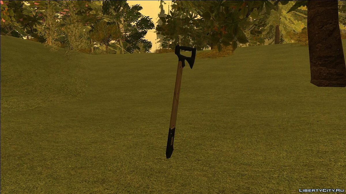 Weapon mod Tactical fasthawk for GTA San Andreas