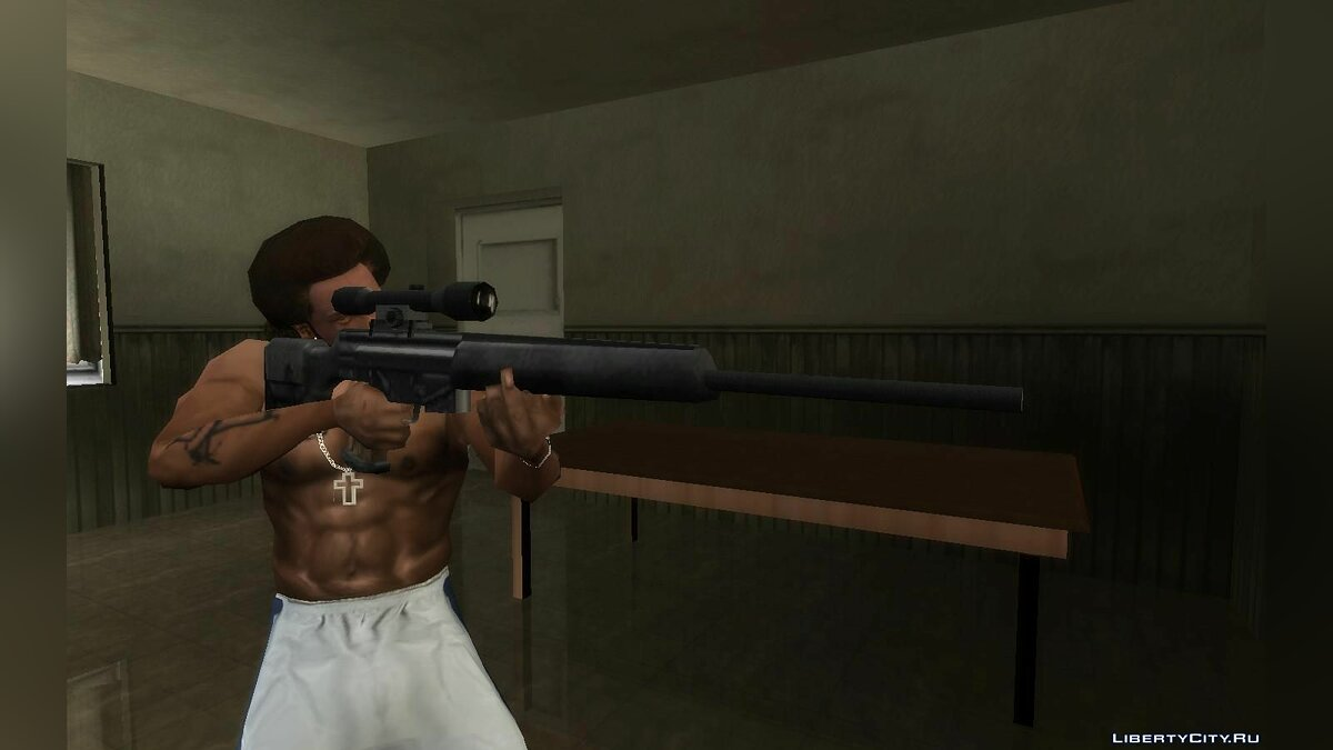 Weapon mod Collection of weapons from the beta version for GTA San Andreas