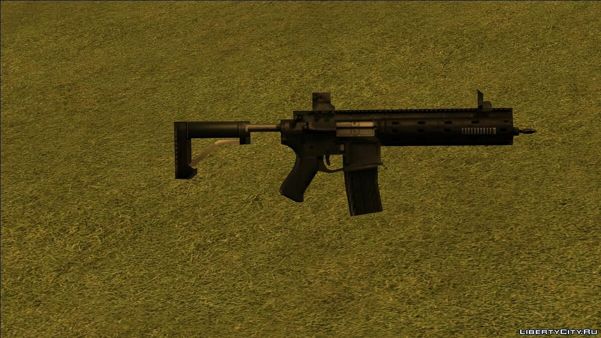 Weapon mod GTA 5 Carbine Rifle for GTA San Andreas