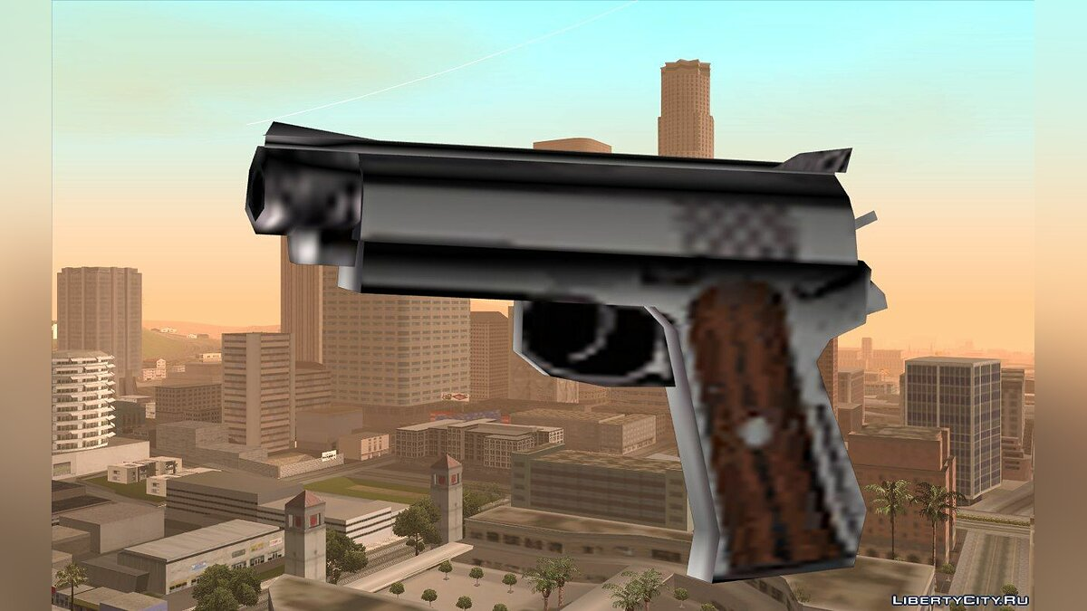 Weapon mod GTA VC Colt 45 Beta Short for GTA San Andreas
