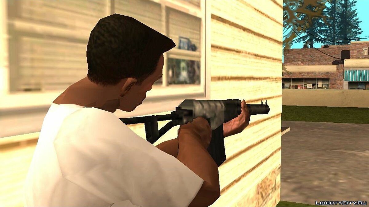 Weapon mod AS VAL for GTA San Andreas
