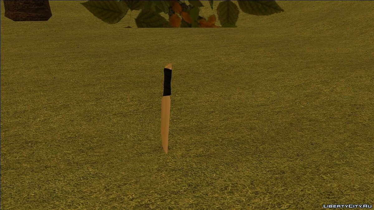Weapon mod Bone knife for GTA San Andreas