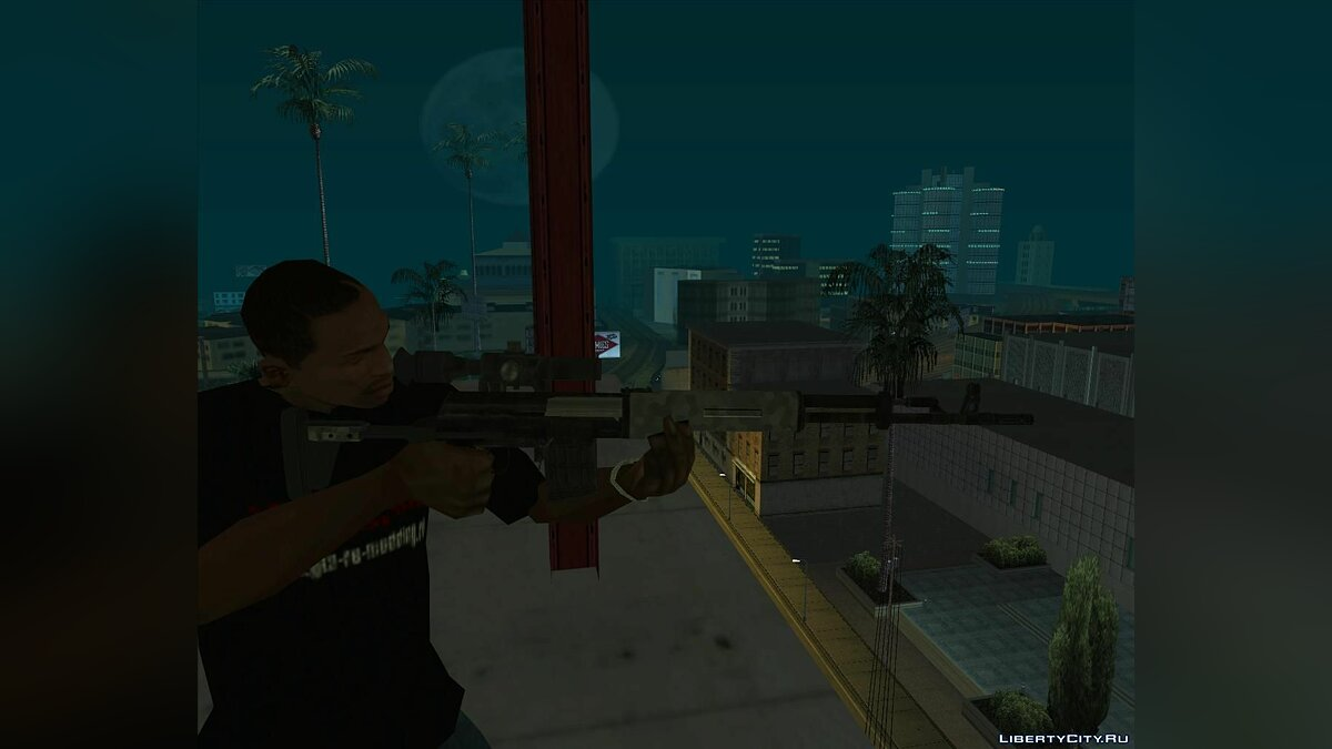 Weapon mod Resident Evil 6 Javo Sniper Rifle for GTA San Andreas