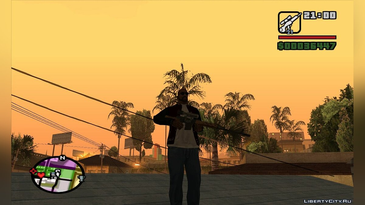 Weapon mod STALKER weapons pak for GTA San Andreas