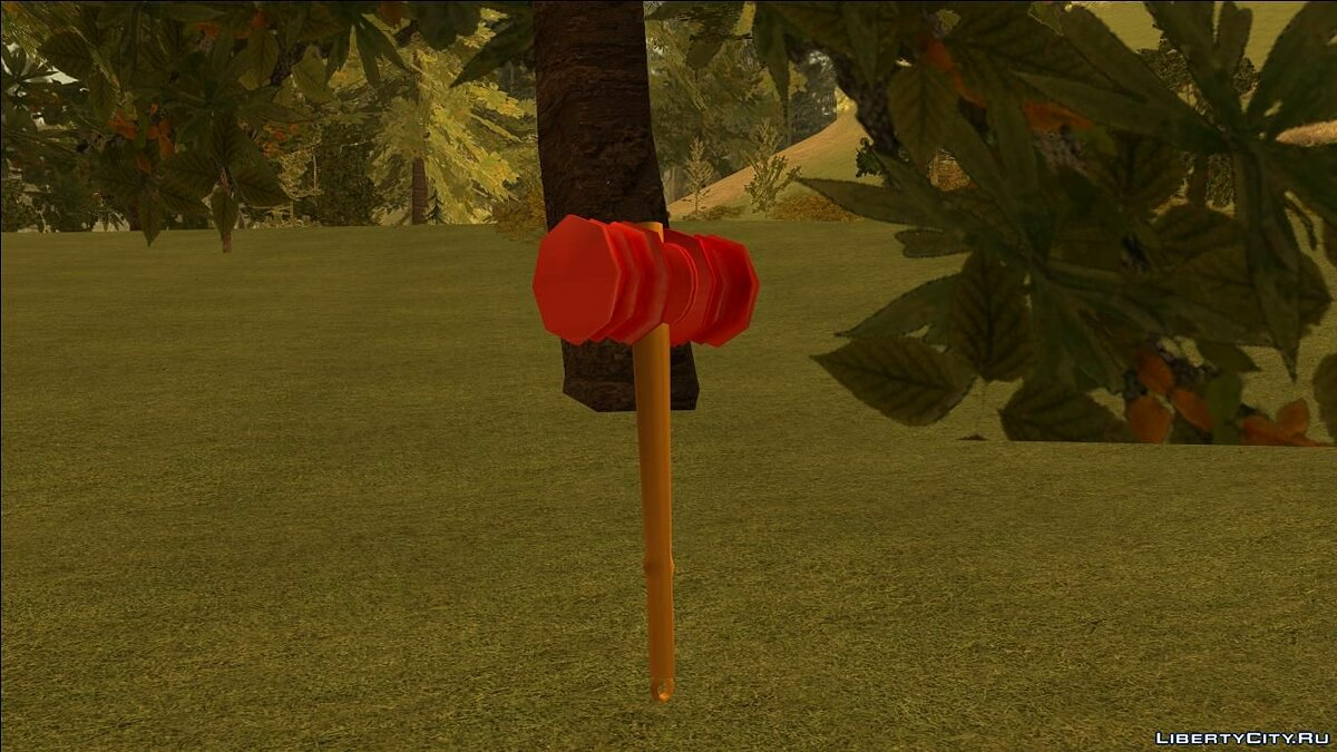 Weapon mod Chipote chillon for GTA San Andreas
