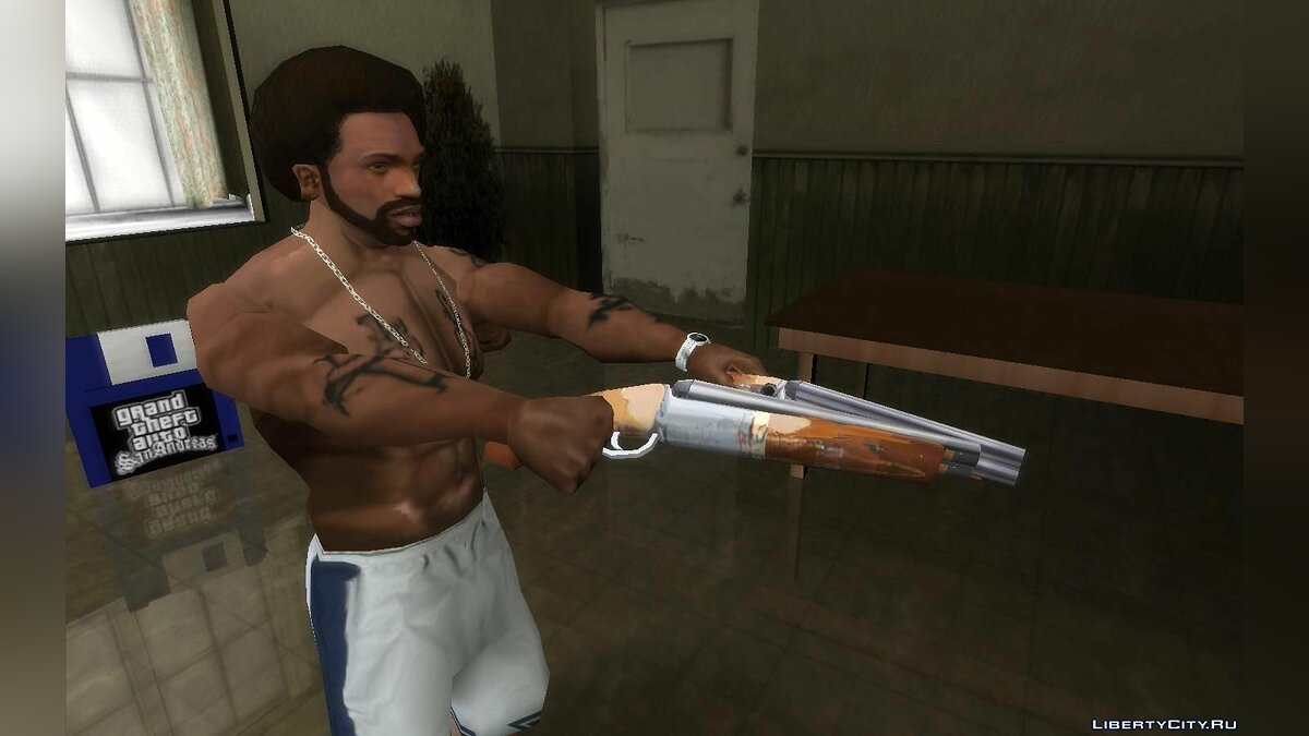Weapon mod Improved Standard Weapons (Update 03/11/2020) for GTA San Andreas