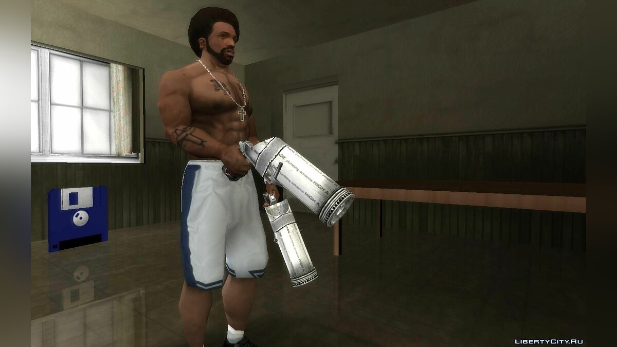 Weapon mod Bottle Gun from Bully SE for GTA San Andreas