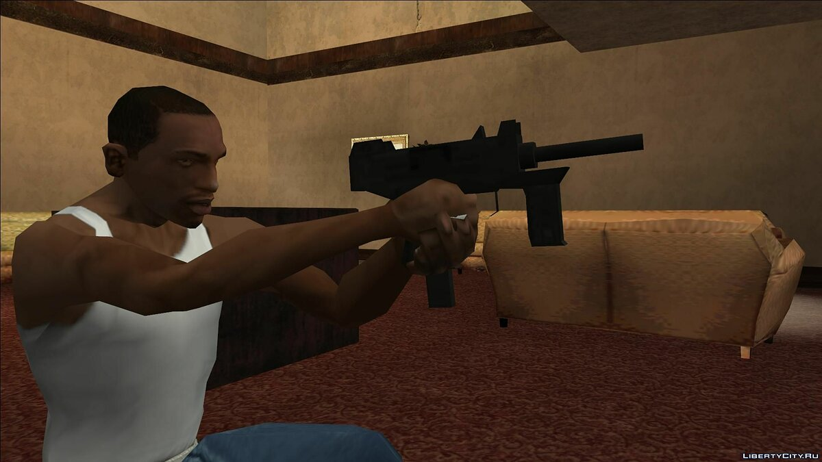 Weapon mod Small Weapon Pack [SA style] for GTA San Andreas