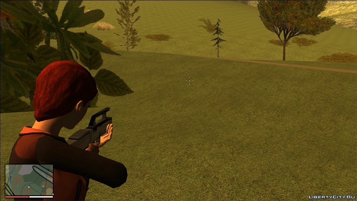 Weapon mod FMG9 for GTA San Andreas