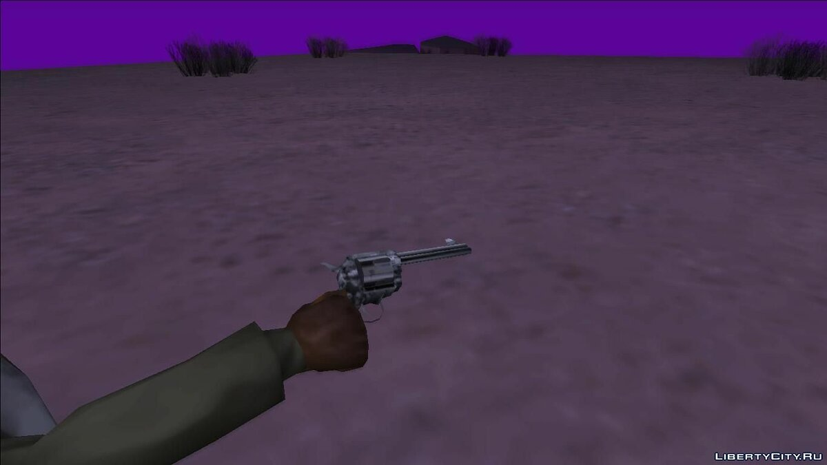 Weapon mod Cattleman Revolver Pack for GTA San Andreas