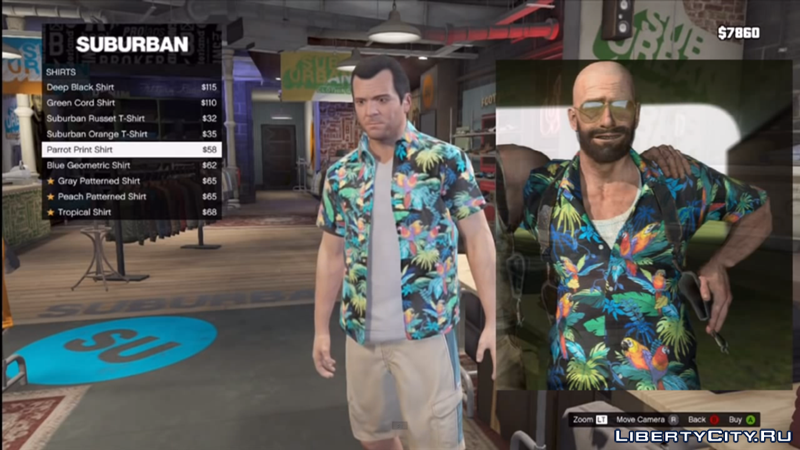 Shirt From Max Payne 3
