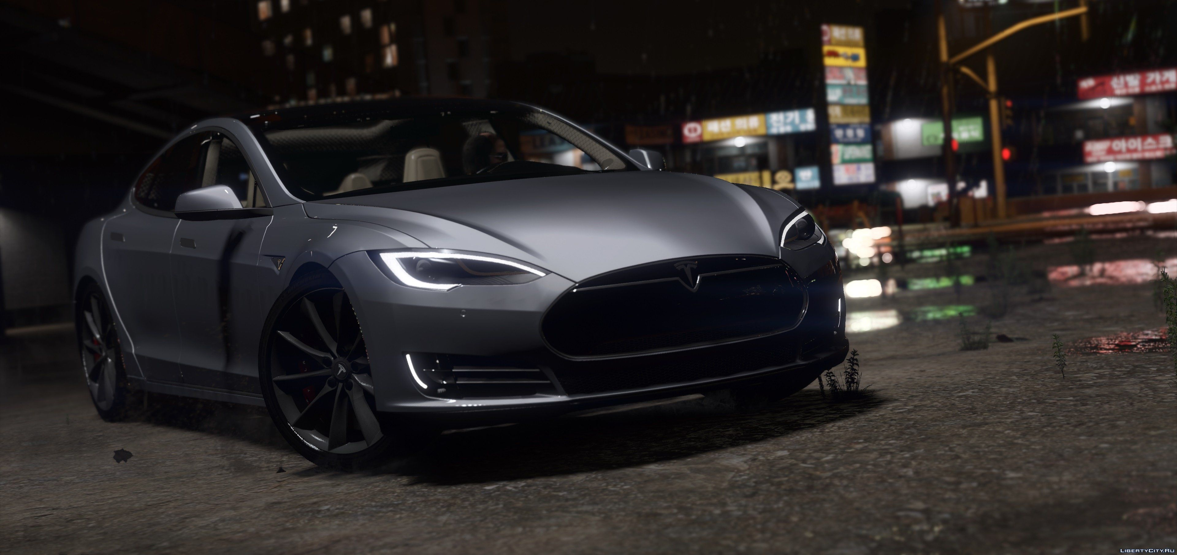 2016 Tesla Model S P90d 1 0 For Gta 5